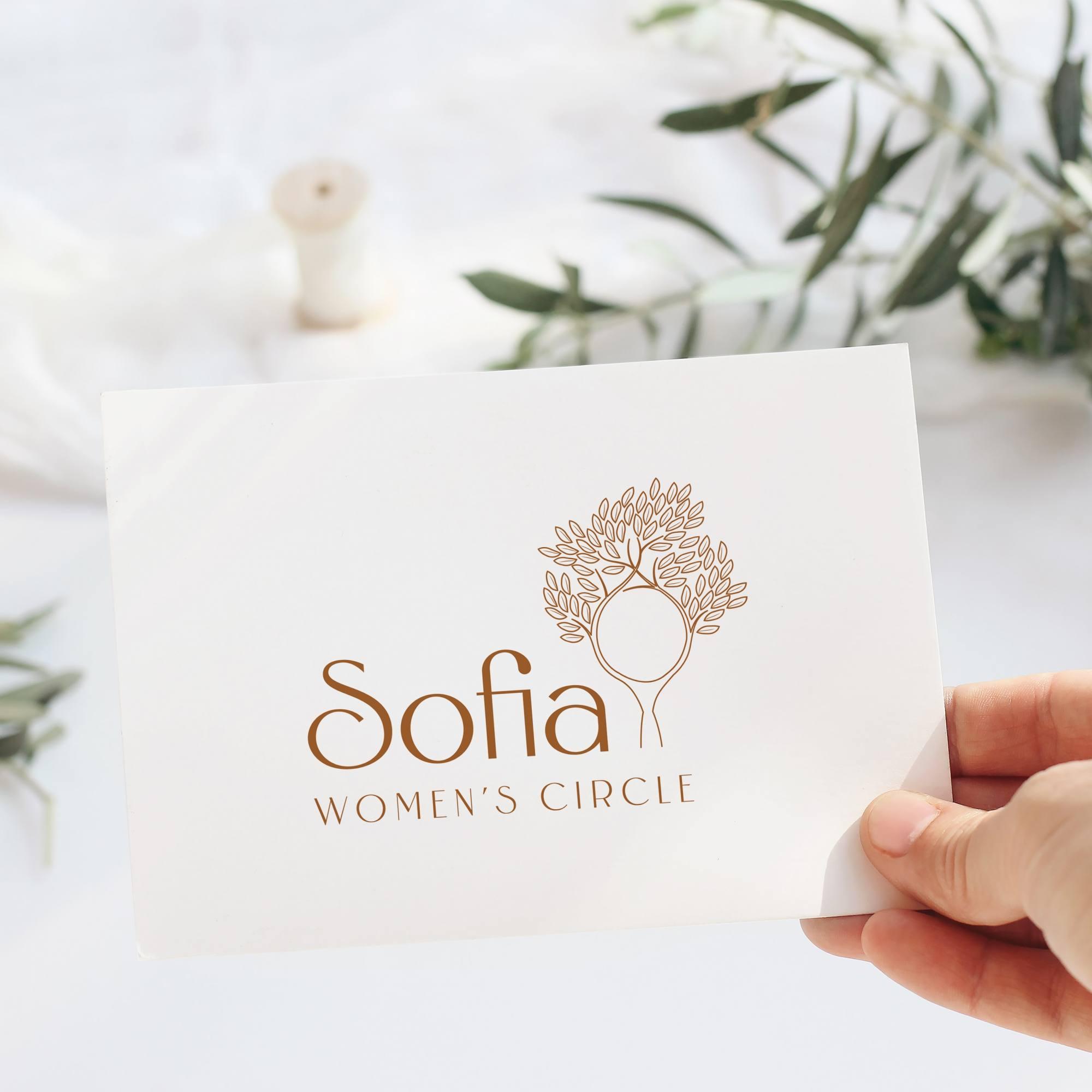 Sofia Women's Circle Brand Design S